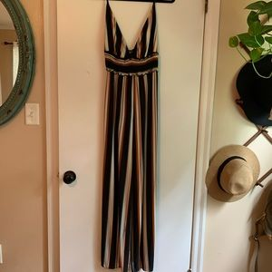 ✨3 for 20✨Windsor Stripe Jumpsuit Size Small
